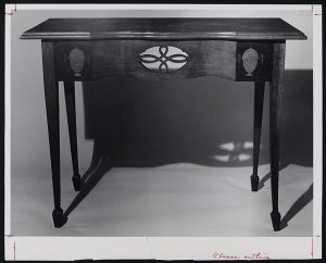 Image of Miss Elizabeth Filler pier table, ca 1804-1806. John Shearer maker. Private collection. Photo courtesy of MESDA.